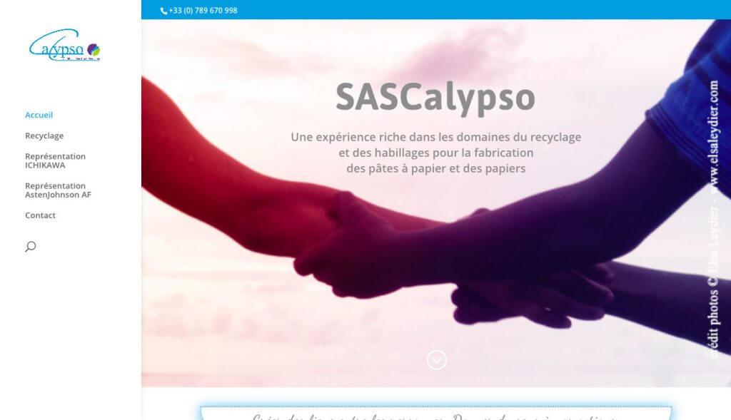 création site sas calypso