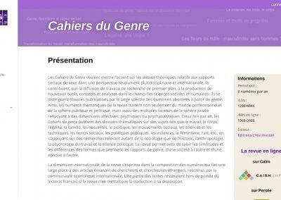 Cahiers du Genre